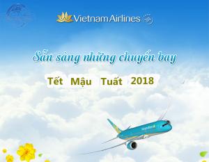 Vé máy bay Tết Mậu Tuất 2018
