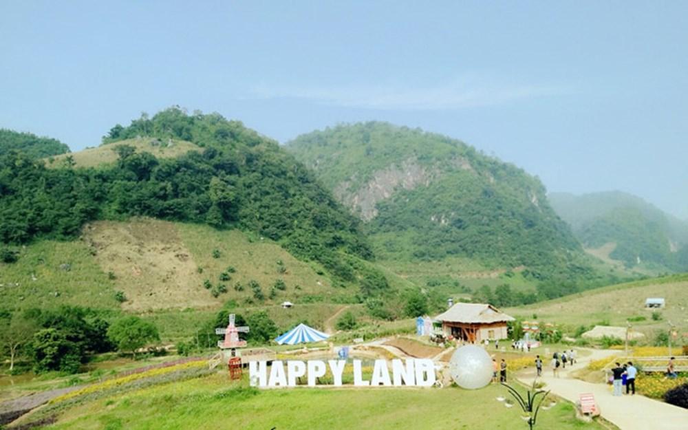 Kết quả hình ảnh cho Khu du lịch Mộc Châu Happy Land